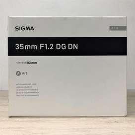 Sigma 35mm f/1.2 DG DN Art para sony