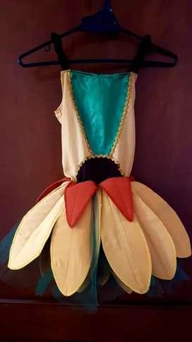 Disfraz-vestido de Girasol para niña