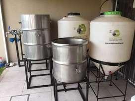 Fábrica 250 lts cerveza