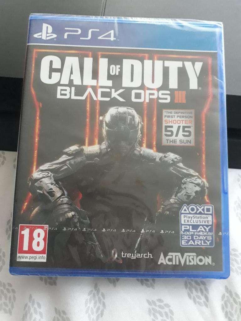 Juego Call Of Duty Blafk Ops Iii