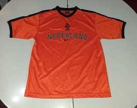 Camiseta de Holanda 2002 Talle S