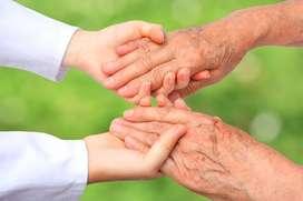 Cuidado y atencion de personas mayores adultas