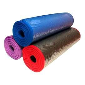 Mat Yoga Colchoneta Pilates Antideslizante 100mm Varios Colores