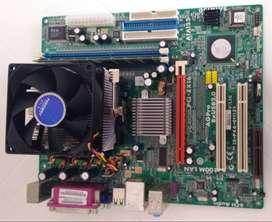 MainBoard Procesador y Memoria