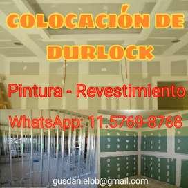 Colocación de Durlock