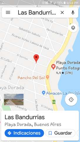 Terreno en Playa Dorada Pdo De Mar Chiquita