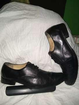 Zapatos Shoes Lions, Talla 44, Usado,Cuero Natural