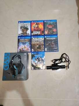 Juegos y accesorios PS4