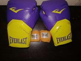 Se vende guantes de kickboxing