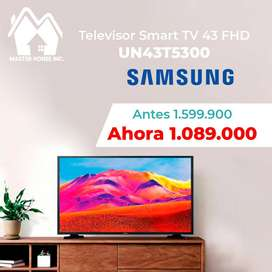 """televisor led de 43"""" full hd marca SAMSUNG, smart tv, wifi, TDT-T2,Nuevo,garantia de 1 año pago contra entrega en Bogotá"""