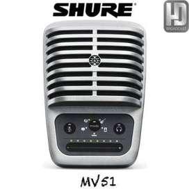 MV51 Micrófono condensador de diafragma grande MV51