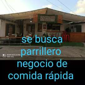Busco parrillero colon