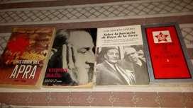 vendo coleccion de libros de Victo Raúl Haya de la Torre
