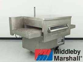 hornos de gas para pizza banda transportadora pizzero de cadena cinta túnel