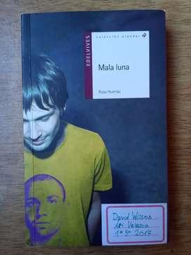 "Libro ""Mala luna"" de Rosa Huertas"