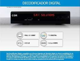 Decodificador Tv Digital Tda Hd