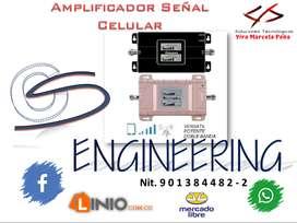 Sistema Amplificador Señal De Celular (Precio a Consultar)