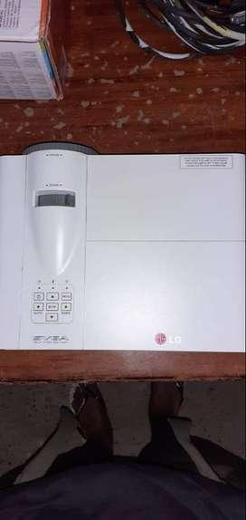 Vendo proyector LG en buenas condiciones precio negociable