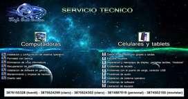 SERVICIO TECNICO DE CELULARES, TABLETS Y COMPUTADORAS