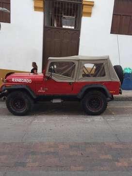 Jeep willys 1961 Modificado ubicado en Ocaña Norte de Santander