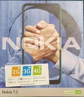 NOKIA 7.2 celular