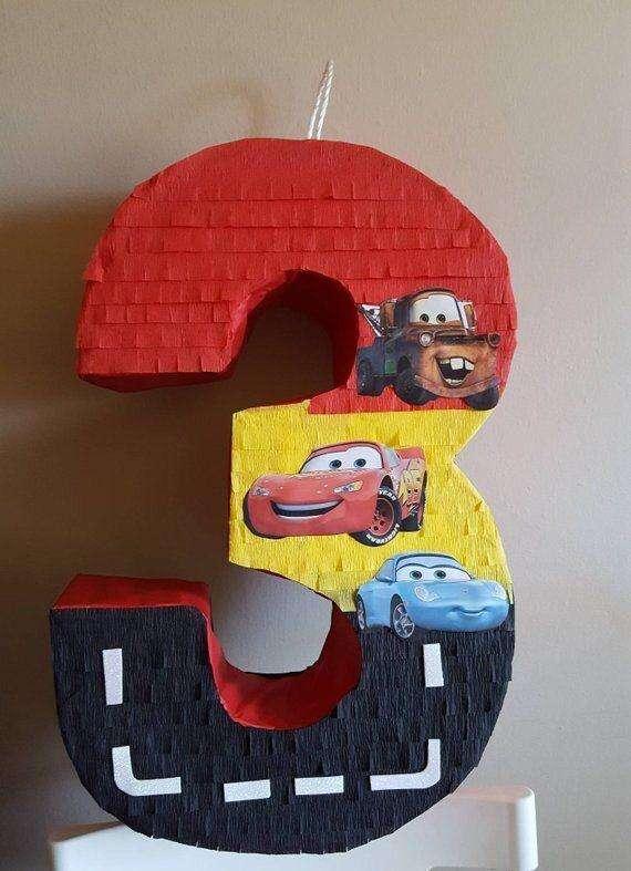 Numeros 3D Cars Y Otros Motivos Desde 0