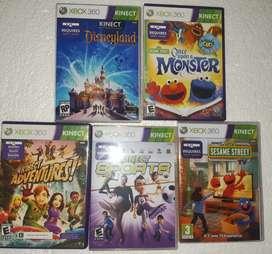 Kinect juegos originales de Xbox 360