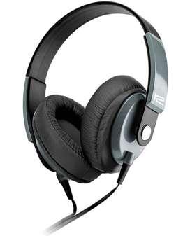 Audífono estéreo con micrófono, cápsula de comandos en línea, controladores de altavoces Klip Xtreme Obsession