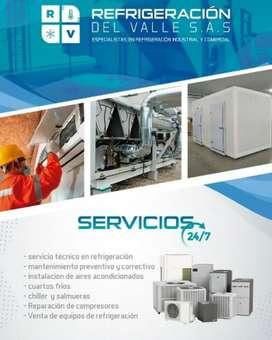 Técnico en refrigeración Aires acondicionados y cuartos frios