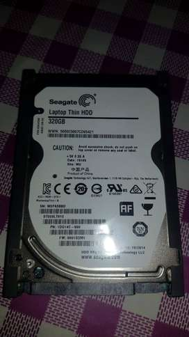 Disco Rigido Seagate 320 Gb Sata Note/netbook Ps3 Blister