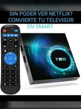 Caja para convertir televisores en Smart TV. TV Box