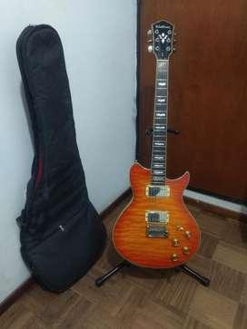 Guitarra Electrica Washburn Wl 66v