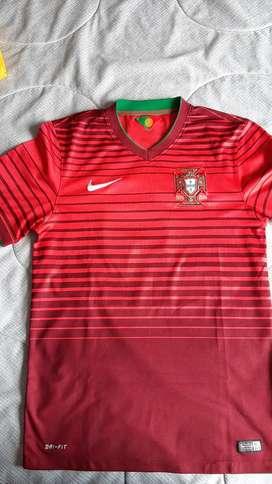 Camiseta fútbol Portugal