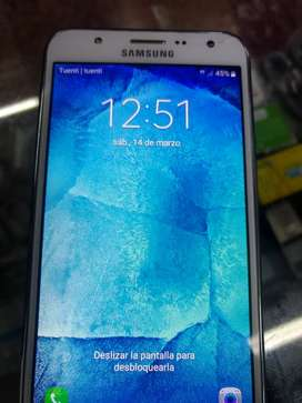 Samsung j700m detalle mínimo en vidrio.sin bateria