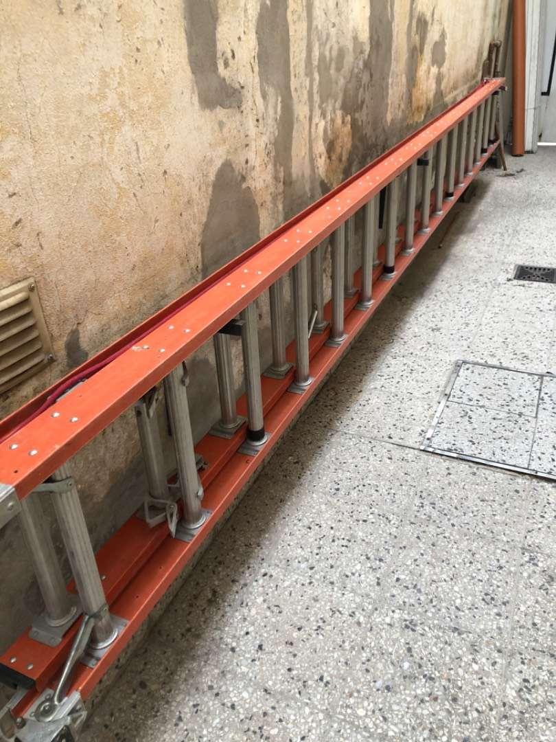 Escalera de Aluminio extensible 0