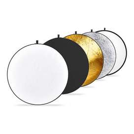 Kit reflector portátil Neewer 5 en 1 de 60 cms