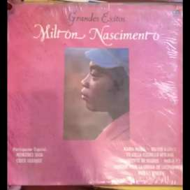 Disco Vinilo Milton Nascimento grandes exitos