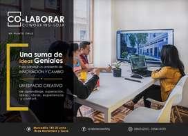 OFICINA ECONÓMICA DE ESPACIO COMPARTIDO / COLABORAR / COWORKING LOJA