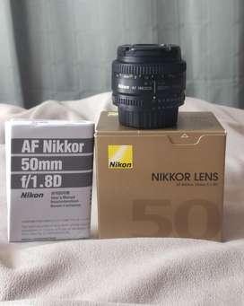 Nikkor 1.8D 50mm AF Nikon  casi nuevo