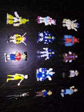 Muñecos jack colección MEDABOTS robots 1998 varios personajes