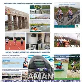 Suites Estudio Full amobladas Alborada Cerca Parque Samanes Servicios Tipo Hotel