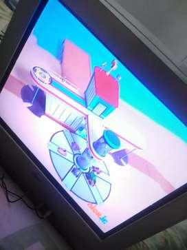 Vendo tv lg convencional pantalla plana de 21