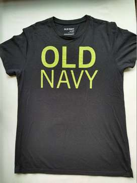 Old Navy camiseta Black green