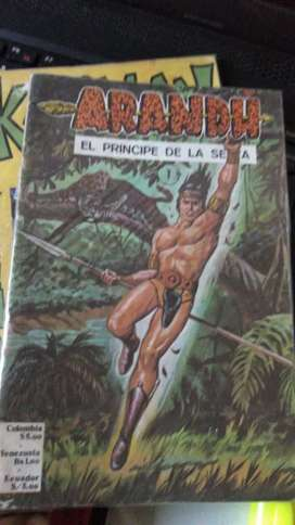 Ejemplares de ARANDÚ de la # 1 en adelante. Año 1970