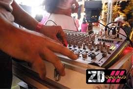 sonido y luces para fiestas y quinces, minitecas