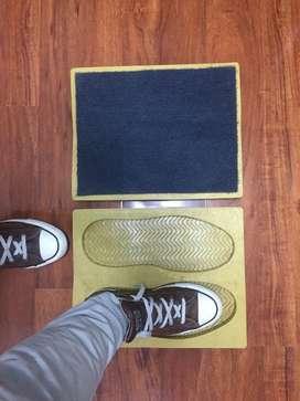 Tapete de huella desinfectante para calzado