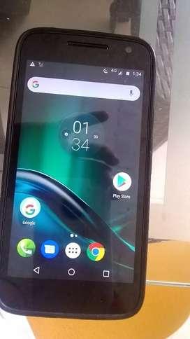 Celular Motorola de segunda con su factura en exente estado