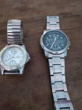 Vendo relojes Festina y Seiko original 25 mil pesos los 2