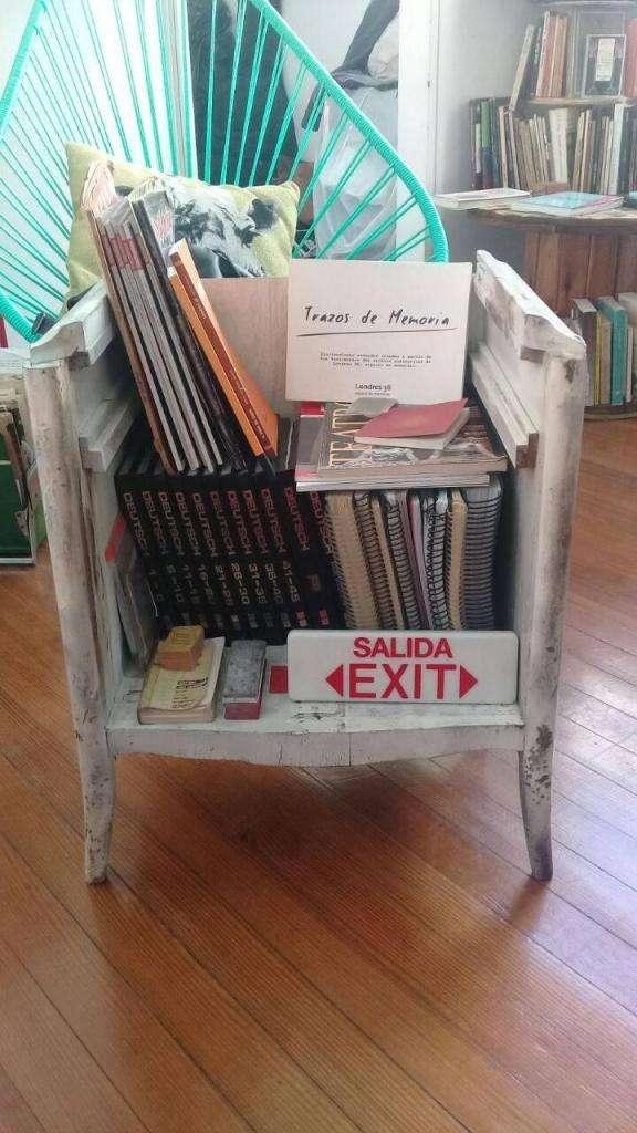 Mueble restaurado color blanco 0