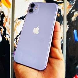 iPhone 11 64Gb Lila Perfectas Condiciones